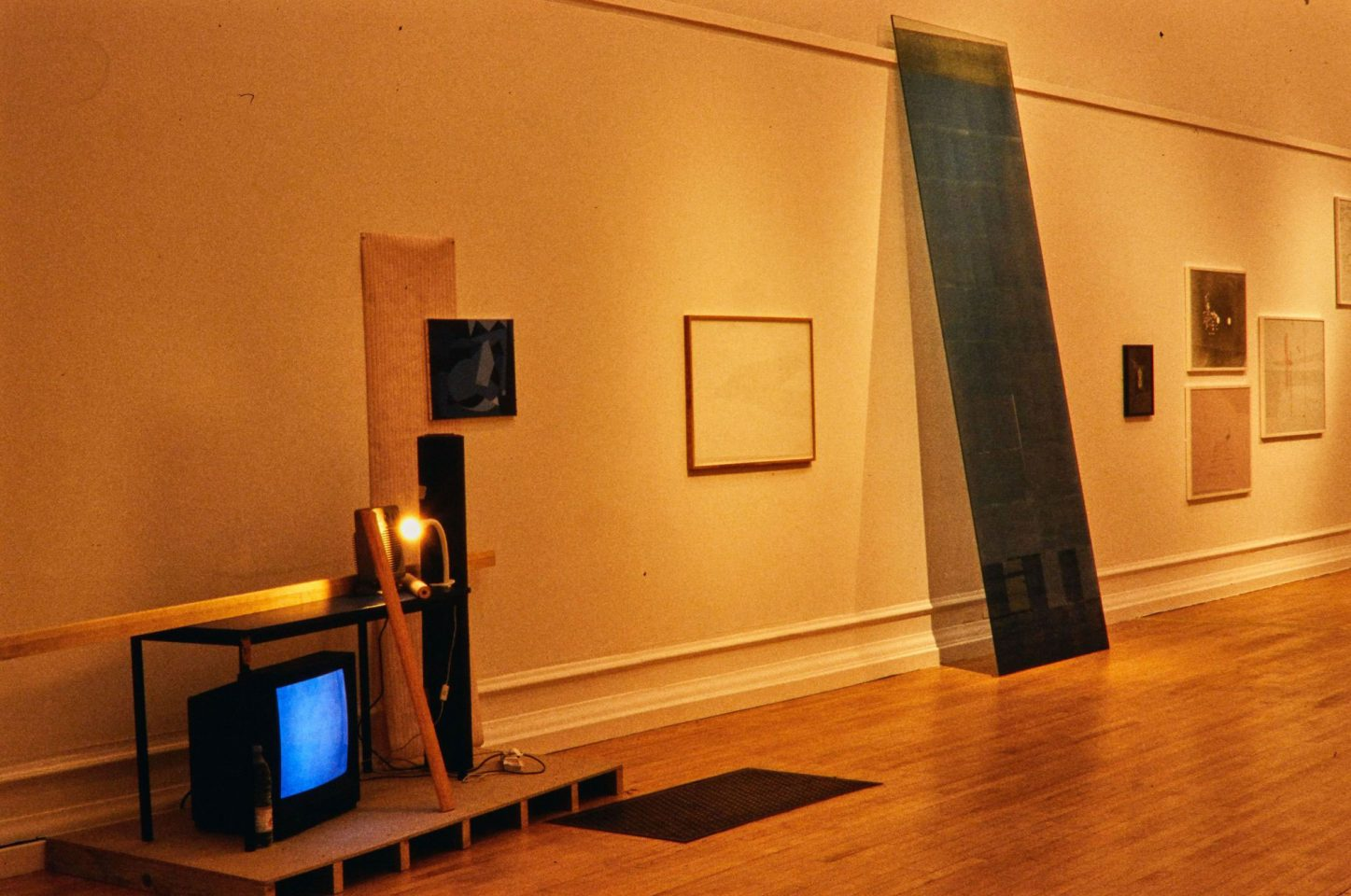 Installation view from the 2004 Showcase Preview.