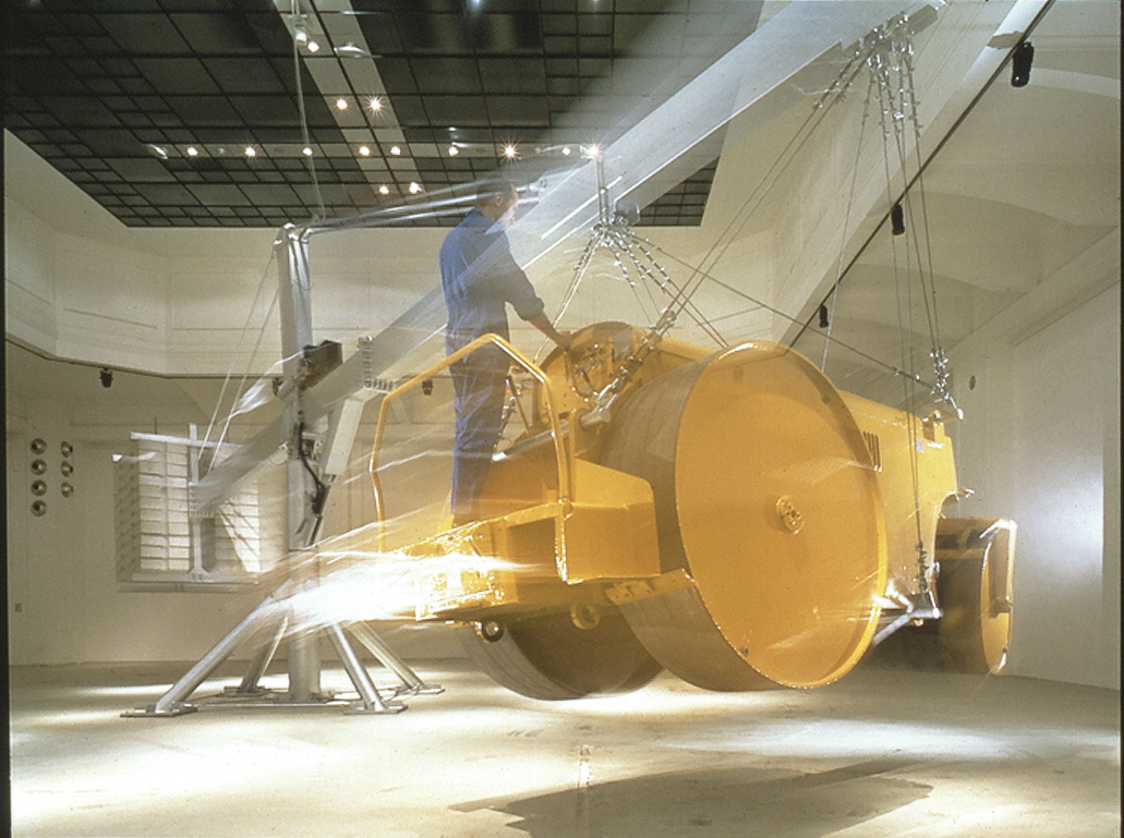 Chris Burden: The Flying Steamroller