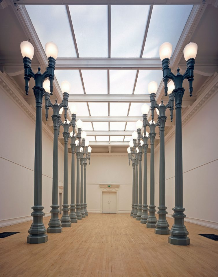 Chris Burden: 14 Magnolia Double Lamps