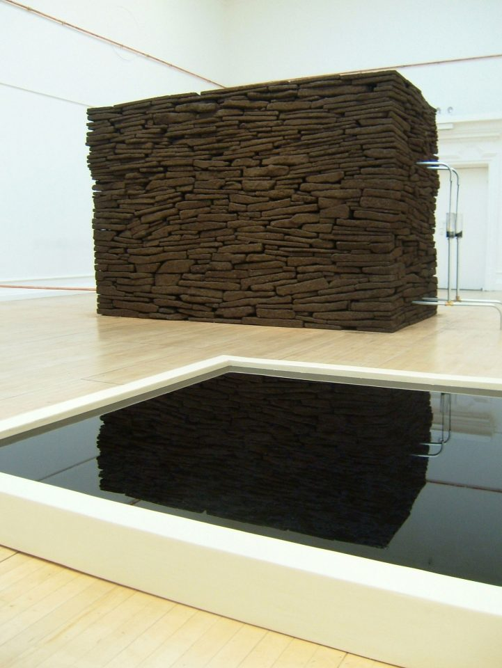 Installation view of Daniel Roth's 2006 exhibition The Well.
