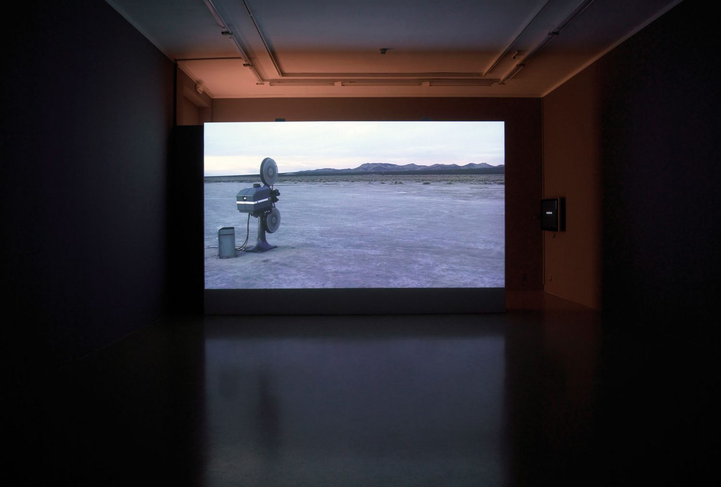 Installation view of Melik Ohanian's Seven Minutes Before. Photos: Kit Hammonds.