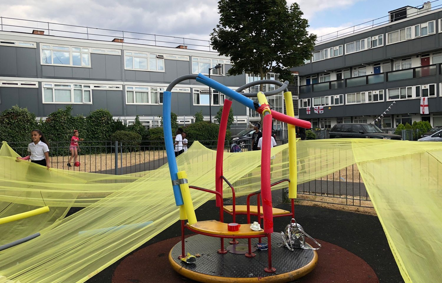 Shepherd Manyika Open Plan project on Elmington Playground