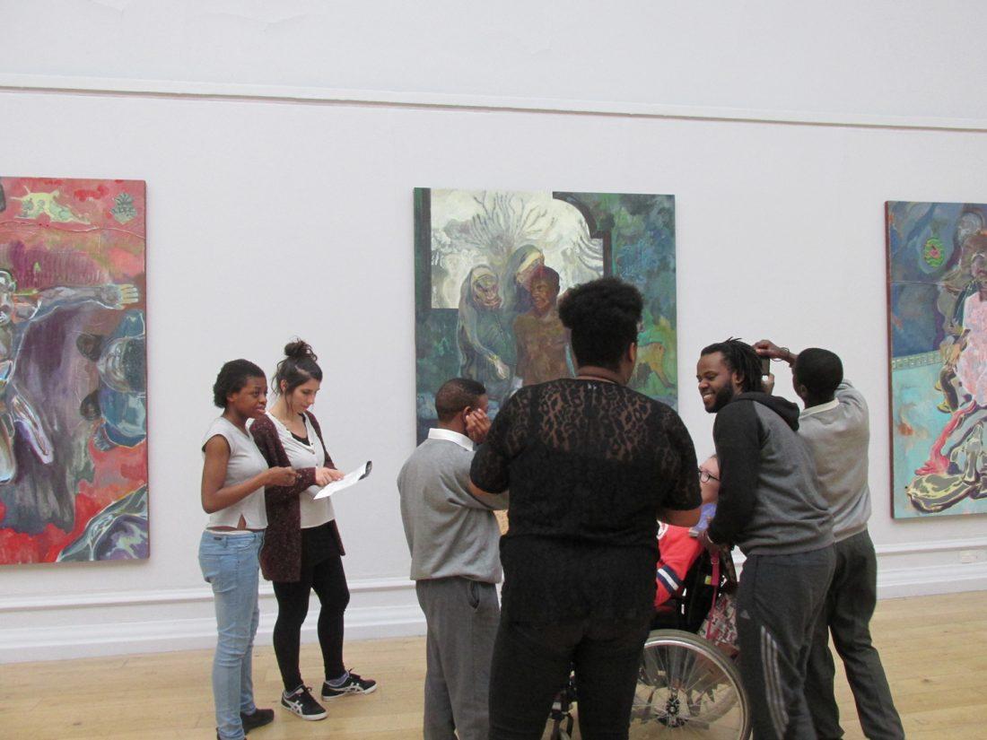 <p>Image: Workshops withHelen Rousseau.</p>