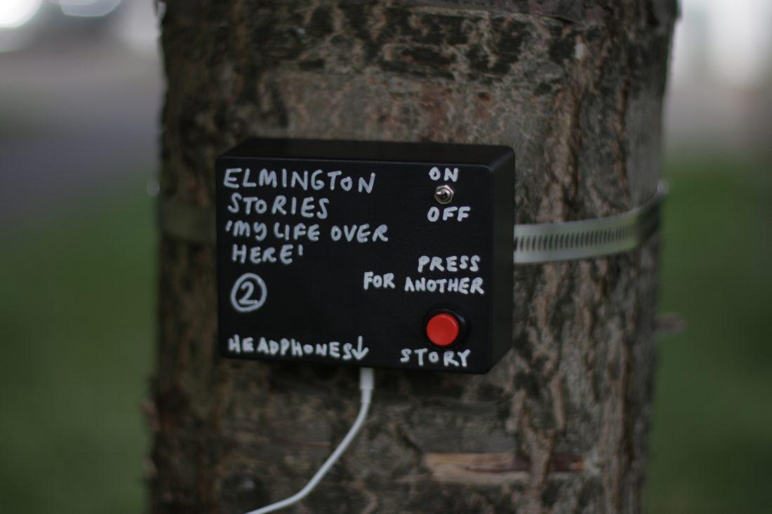<p>John Macedo, <em>My Life Over Here</em>, Elmington Estate, Photo: Leah Morris</p>