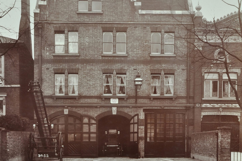 Peckham Road Fire Station, 1905. London Metropolitan Archives, City of London