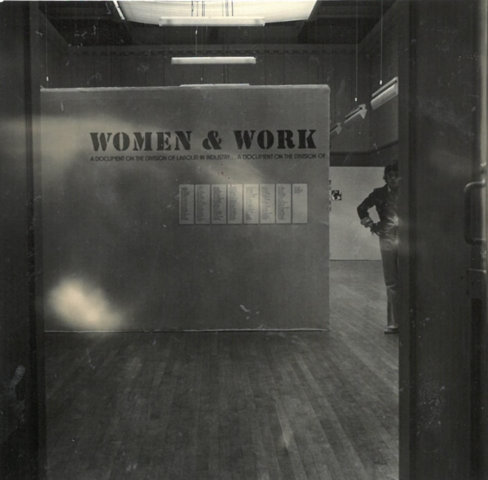 ARCHIVE DISPLAY: REVISITING WOMEN AND WORK