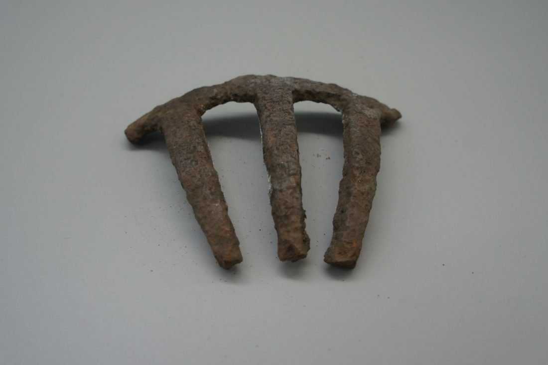 <p>A gardening tool discovered at the site of Camberwell House Lunatic Asylum by Liz Sibthorpe</p>
