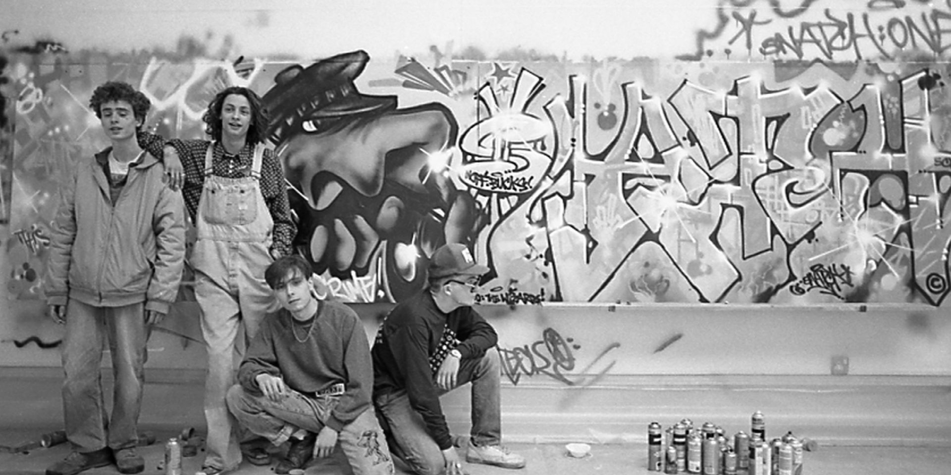 Graffiti in the gallery: an Exhibition of Graffiti Art: Untold Stories - Unseen Realms in 1989