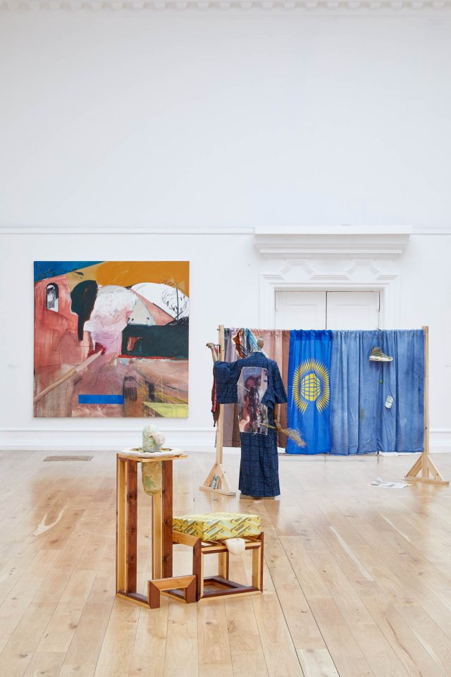 Installation view: Bloomberg New Contemporaries, South London Gallery, 2018. Photo: Andy Stagg.