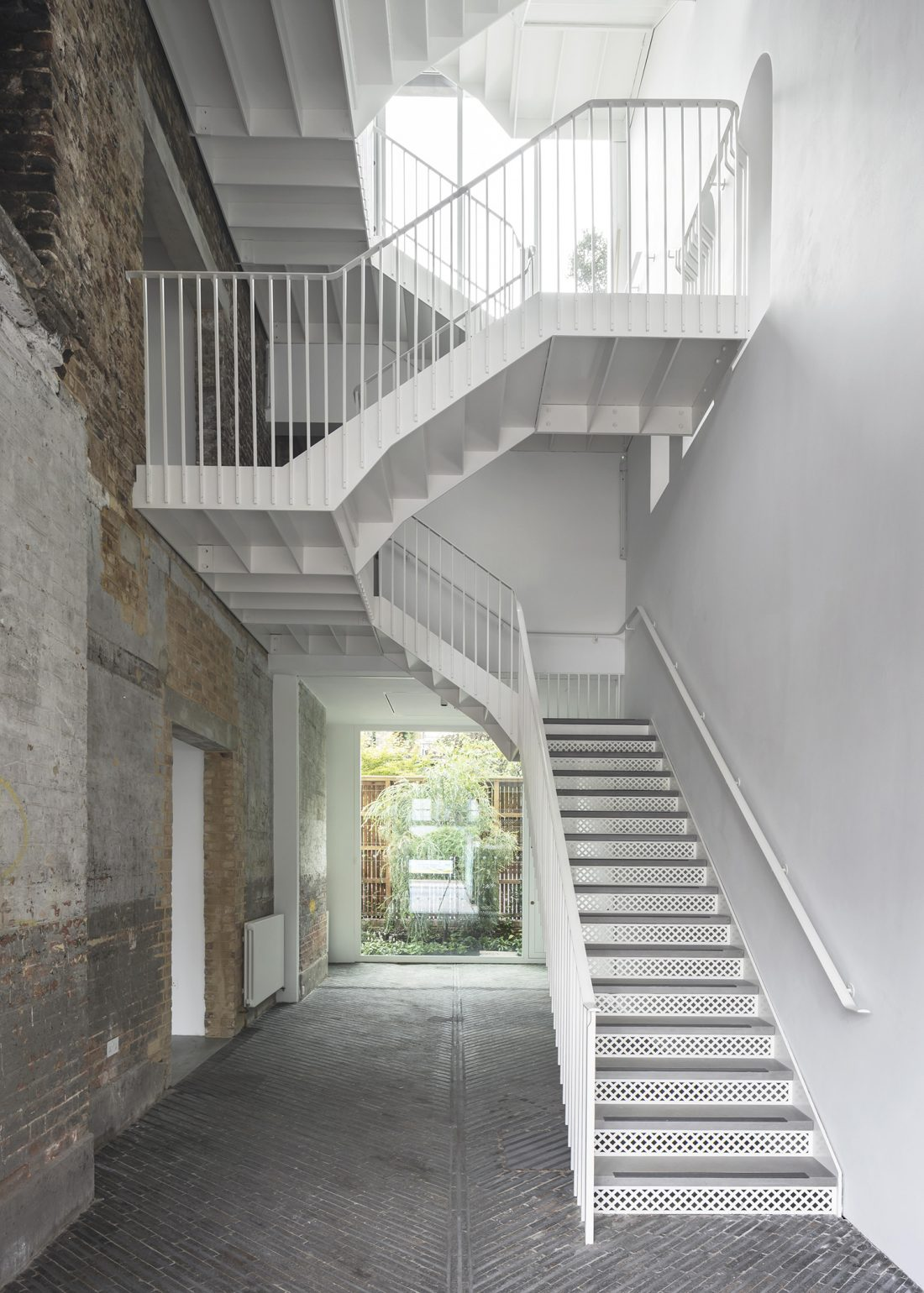 <p>South London Gallery Fire Station interior view. Courtesy 6a architects. Photo: Johan Dehlin.</p>
