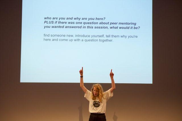 Peer Mentoring with Artist Chloe Cooper