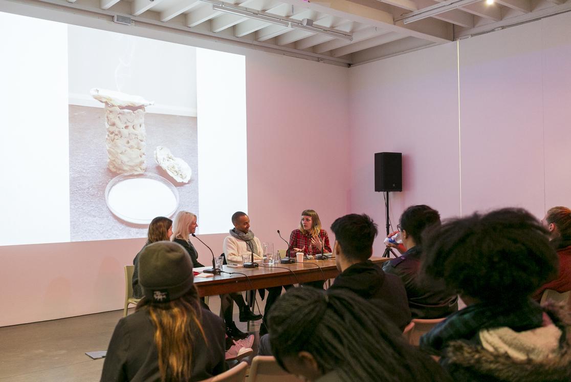 REcreative panel discussion in the Clore Studio