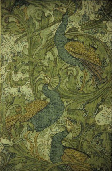 <p>Walter Crane, Peacock Garden, wallpaper sample. London Borough of Southwark Art Collection/South London Gallery Collection.</p>