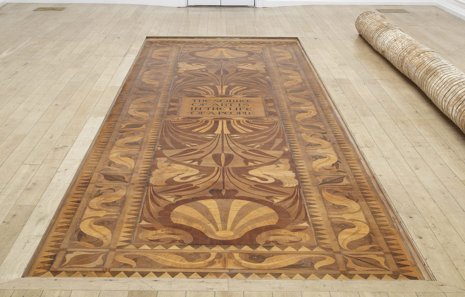 The Source of Art is in the Life of a People: Walter Crane's floor design