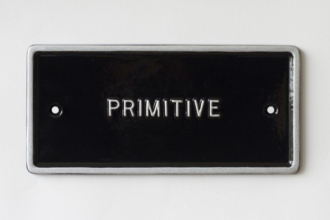 Peter Liversidge – Primitive, 2015