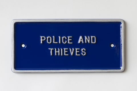 Peter Liversidge Police and Thieves Edition