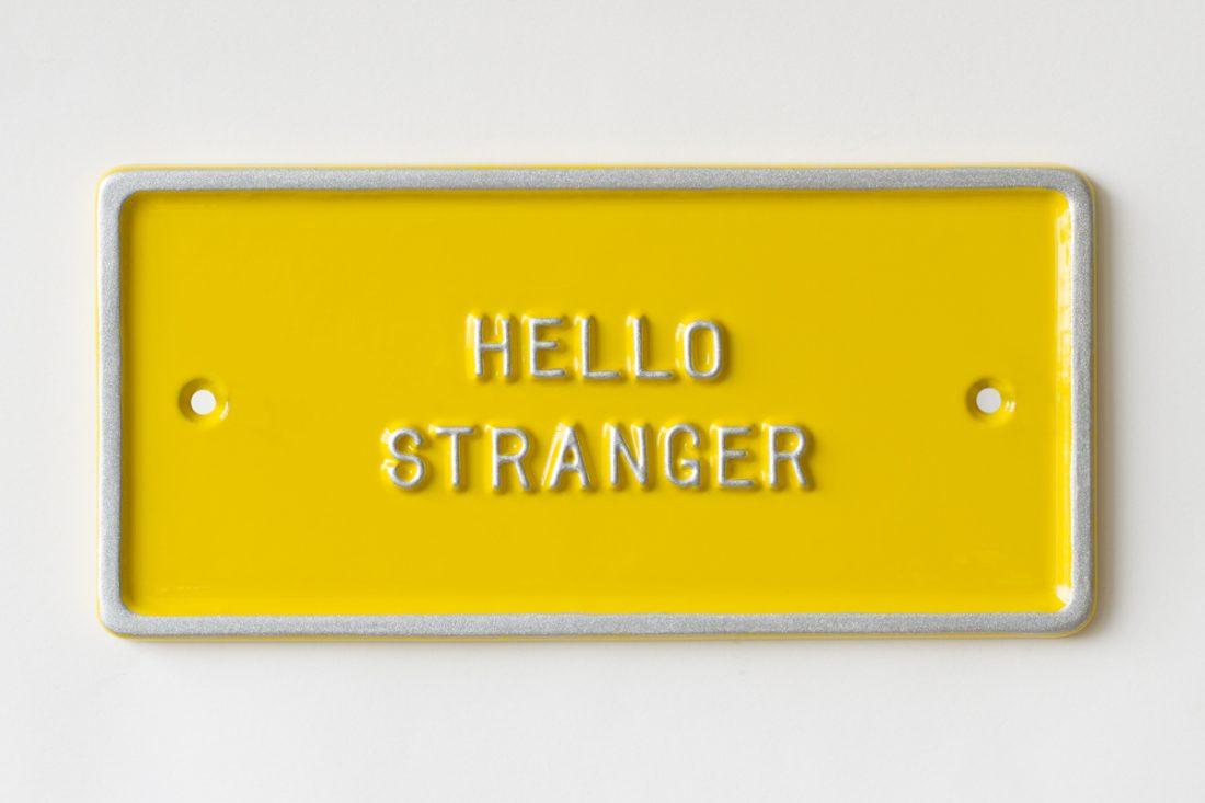Peter Liversidge – Hello Stranger