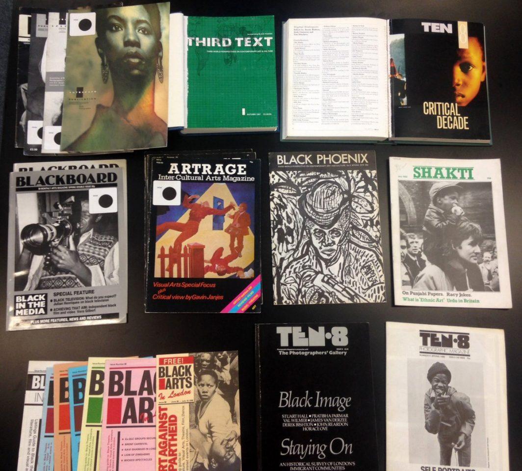 Black Arts Magazines_Photograph courtesy The Stuart Hall Librar
