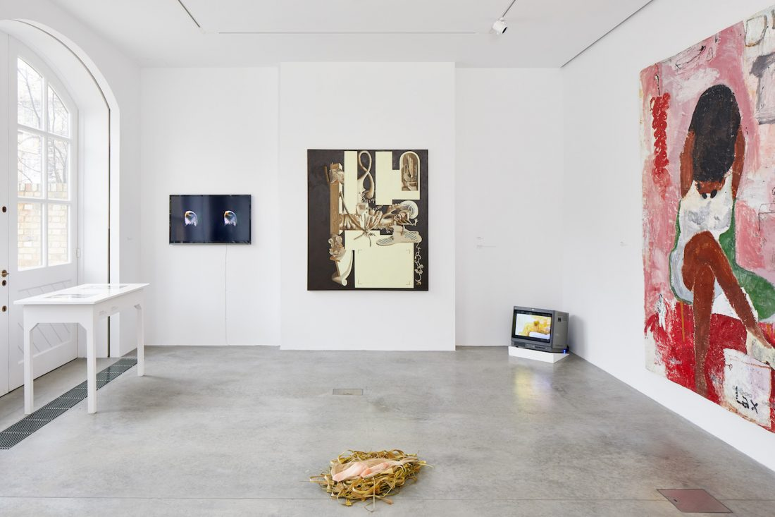 <p>Installation view: Bloomberg New Contemporaries, South London Gallery, 2018. Photo: Andy Stagg.</p>