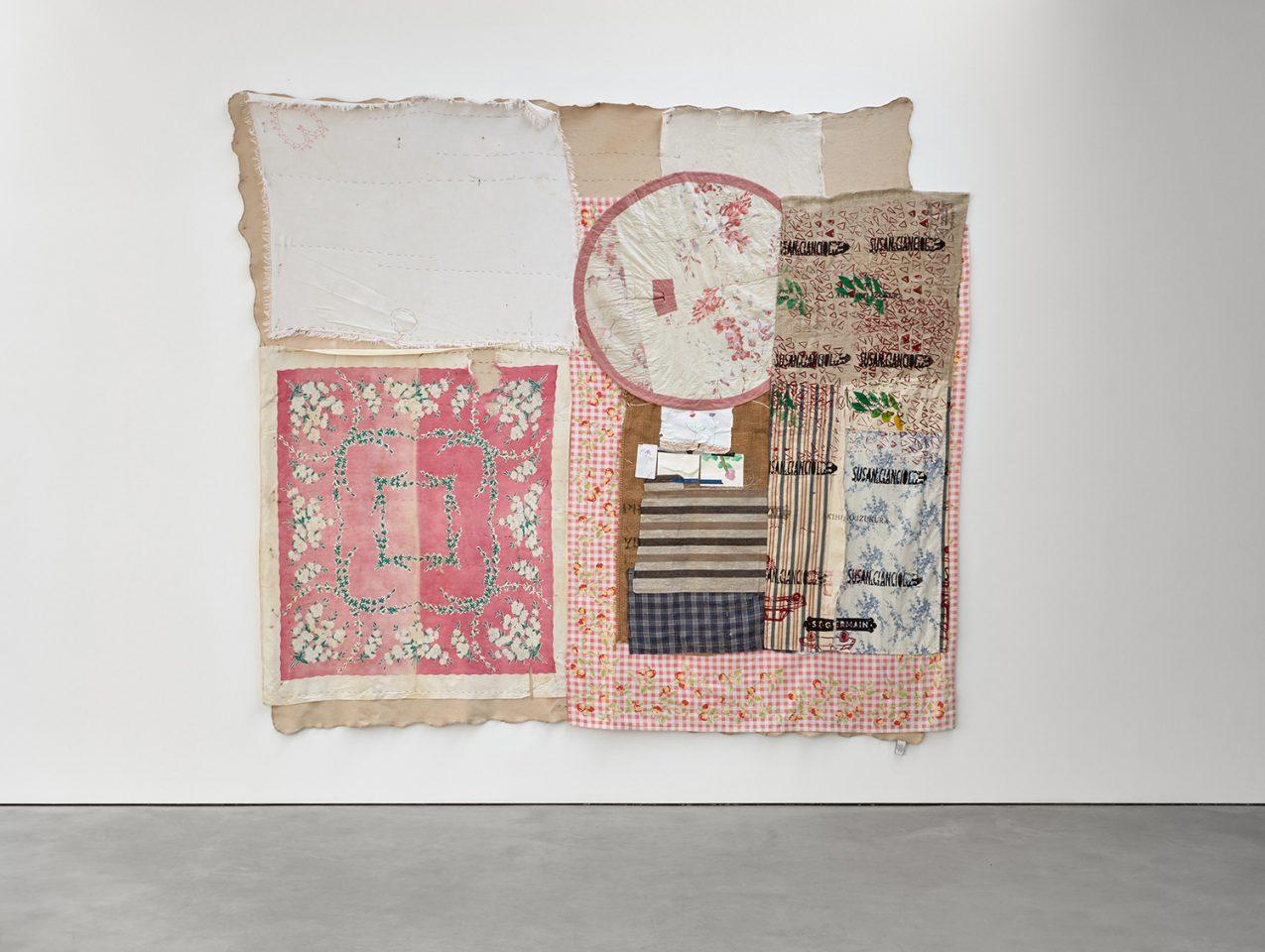 Susan Cianciolo, Tapestry 2, 2010-17.Courtesy Stuart Shave/Modern Art, London. Copyright the Artist. Photo: Robert Glowacki.