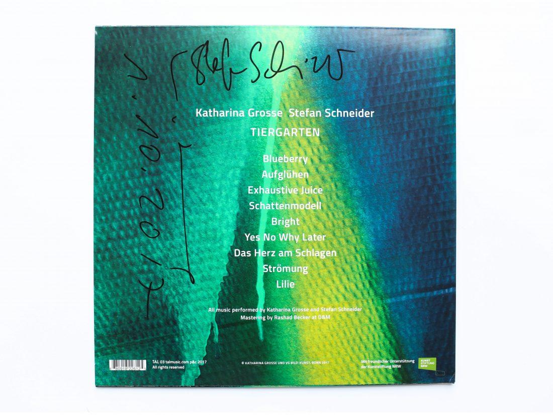 Grosse Tiergarten LP Signed