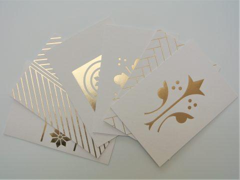 SLG Ola Postcard Foil Block Set