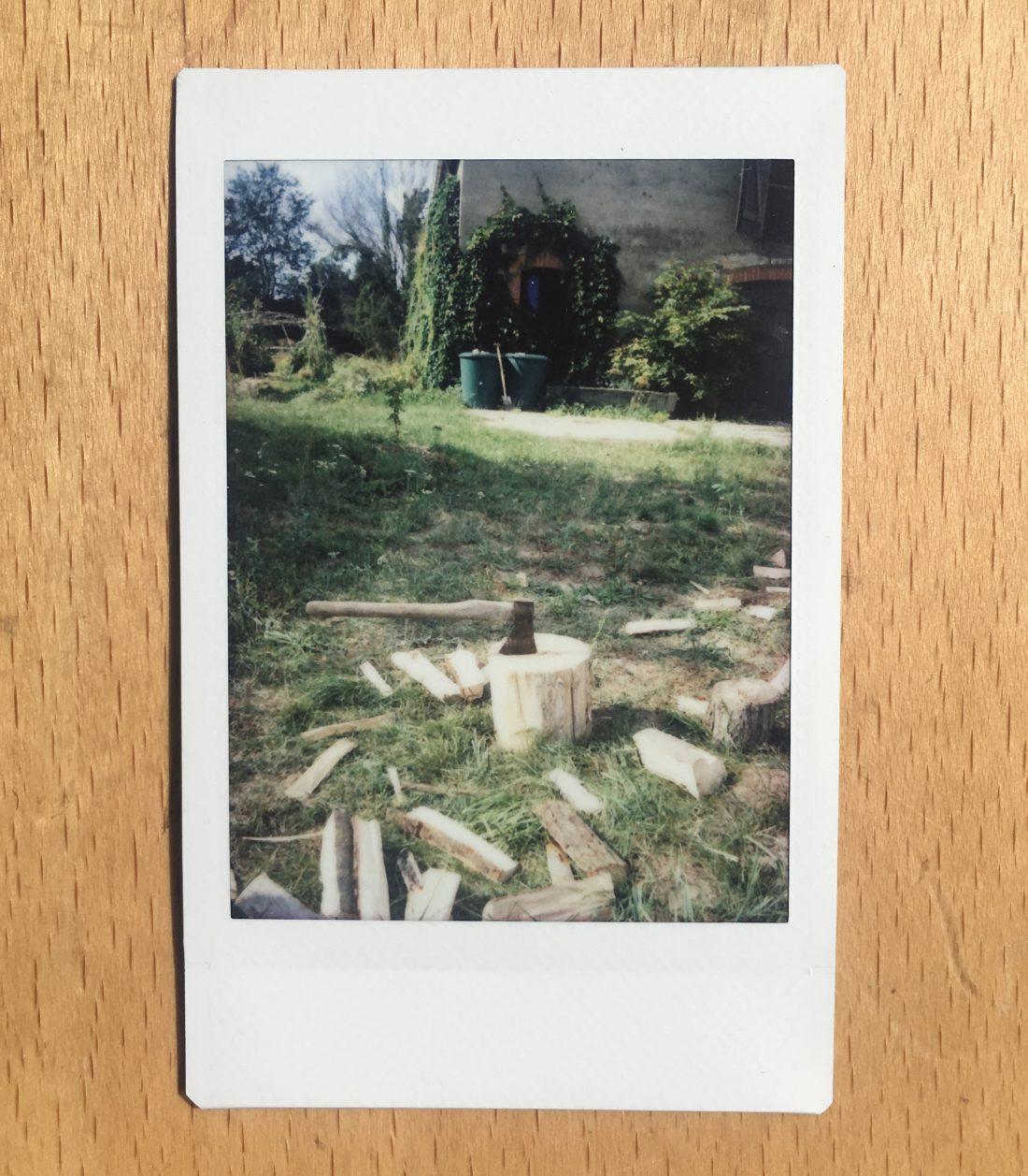 <p>Wood chopping by Shakyra</p>