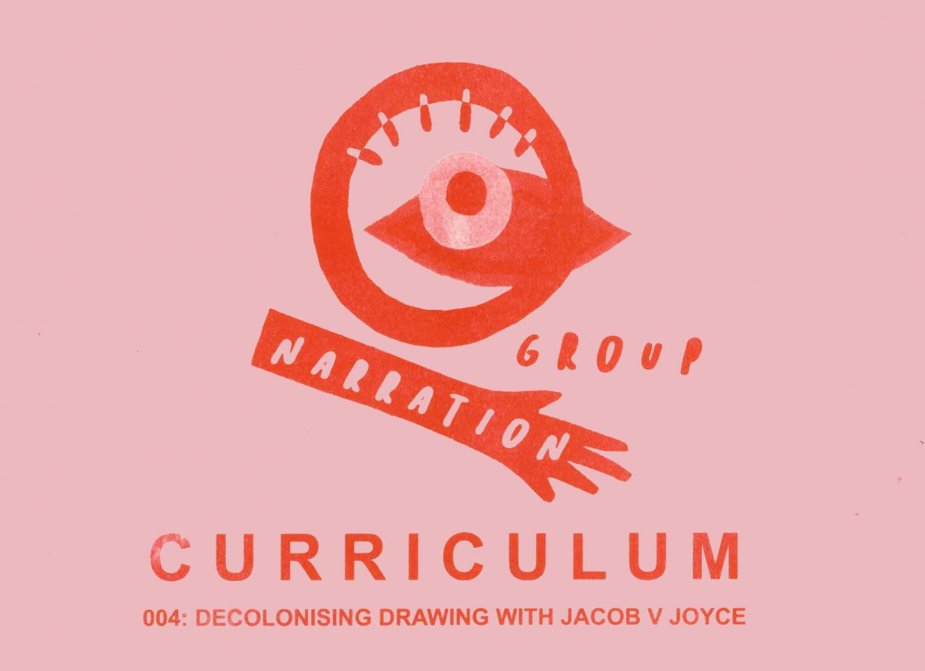 CURRICULUM 004: Decolonising drawing with Jacob V Joyce