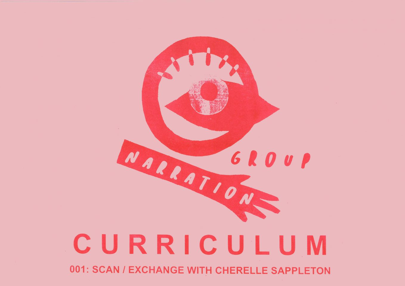 CURRICULUM 001: TALK: SCAN/EXCHANGE WITH CHERELLE SAPPLETON