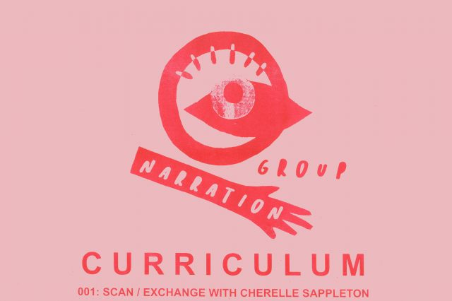 CURRICULUM 001: SCAN/EXCHANGE WITH CHERELLE SAPPLETON