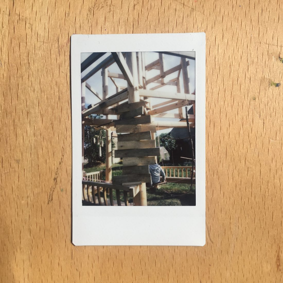 <p>Isha's steps on Danh Vo's Chinese Pavilion</p>