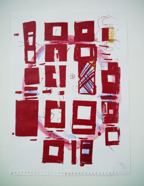 Susan Cianciolo SLG Edition Square Circles