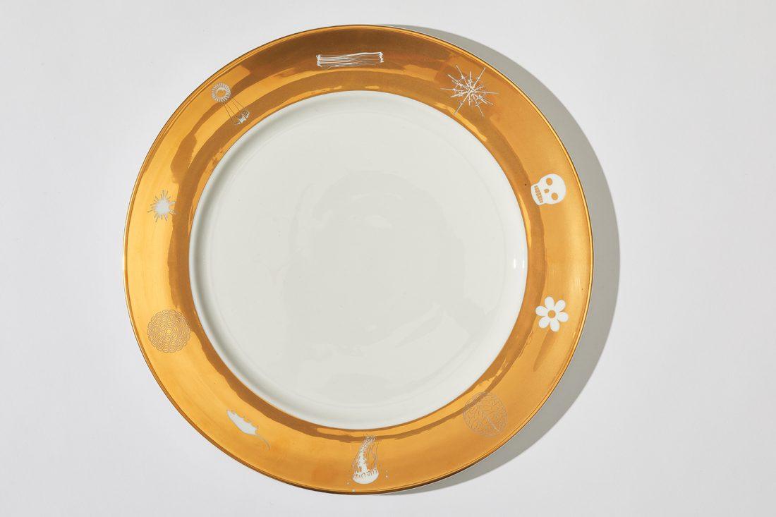 John Armleder SLG Plates 2