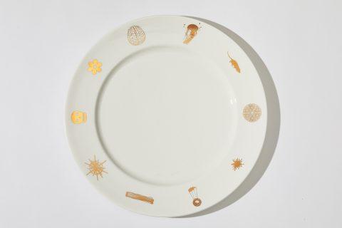 John Armleder SLG Plates 1