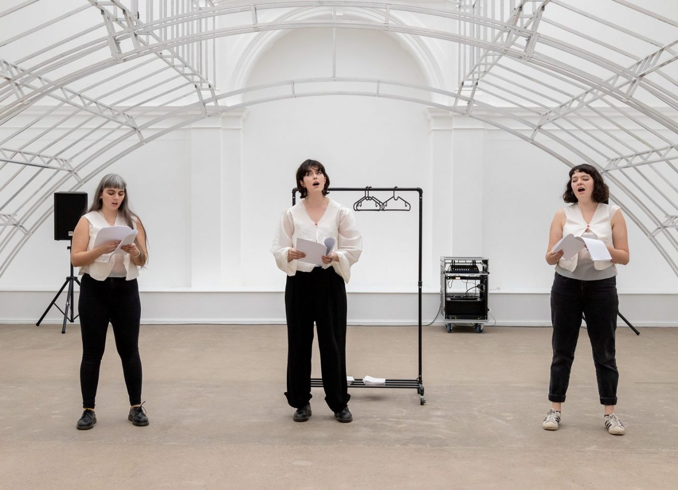 Three artists perform at Leeds Art Gallery