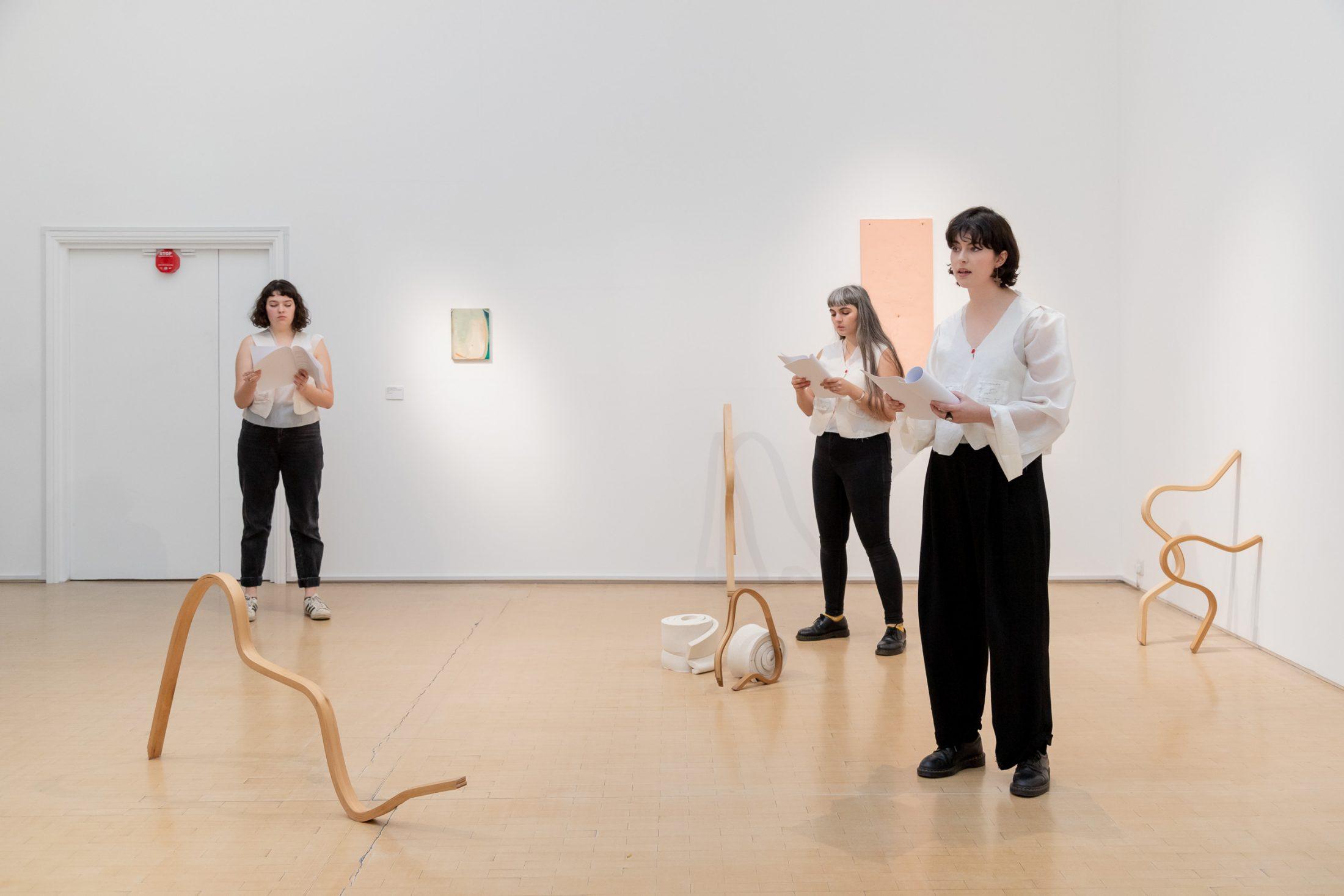 Performance at Leeds Art Gallery