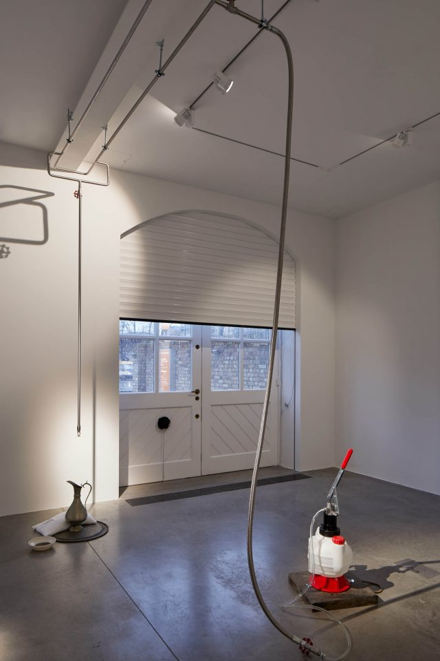 Abbas Zahedi,How To Make A How From A Why?, 2020. Installation view at the South London Gallery. Photo: Andy Stagg