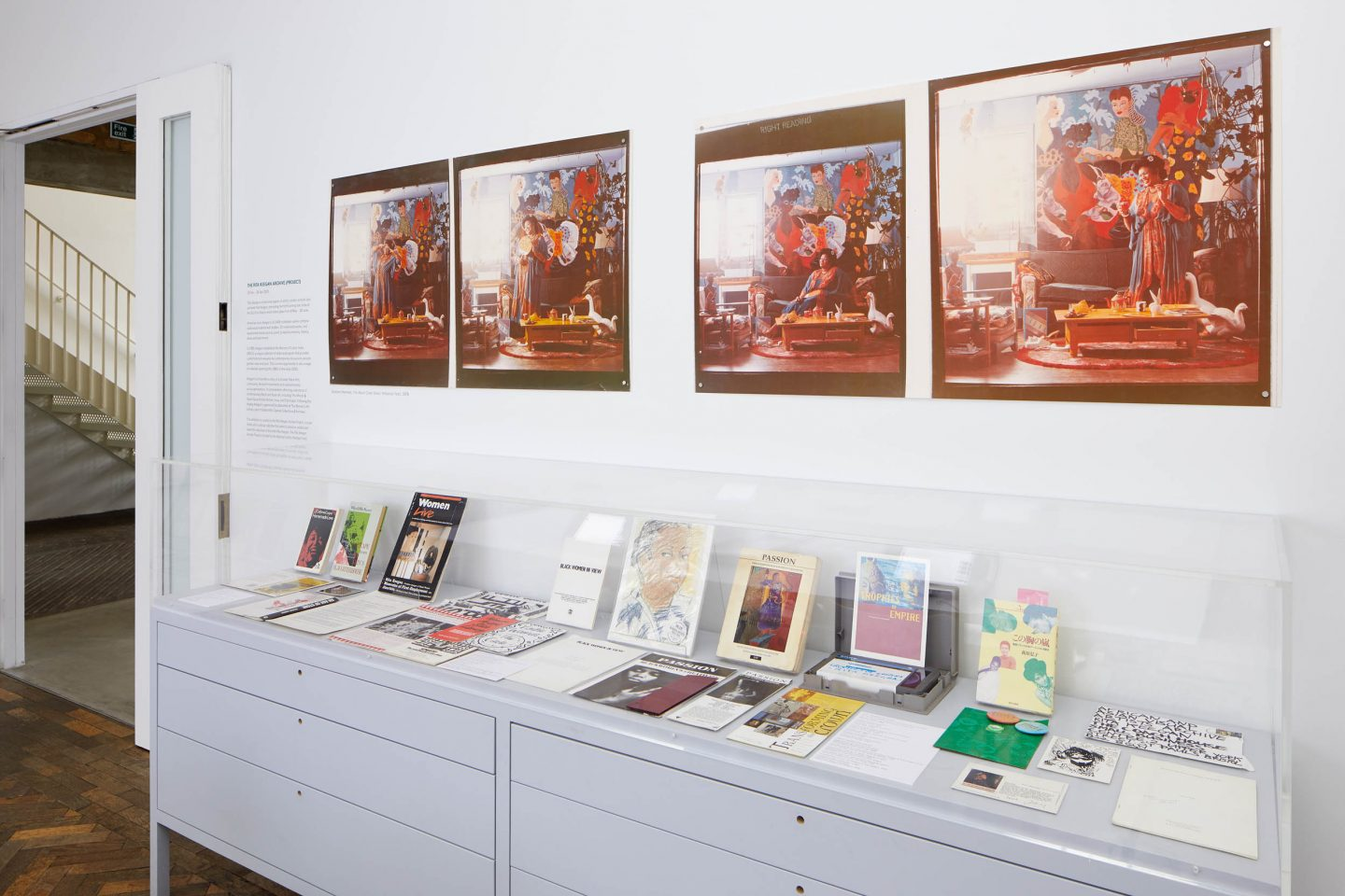 Rita Keegan Archive (Project), installation view at the South London Gallery, 2020. Photo: Andy Stagg