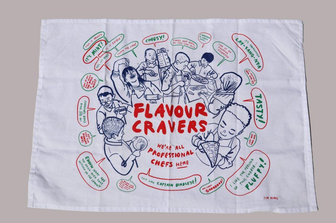 Flavour Cravers Tea Towel