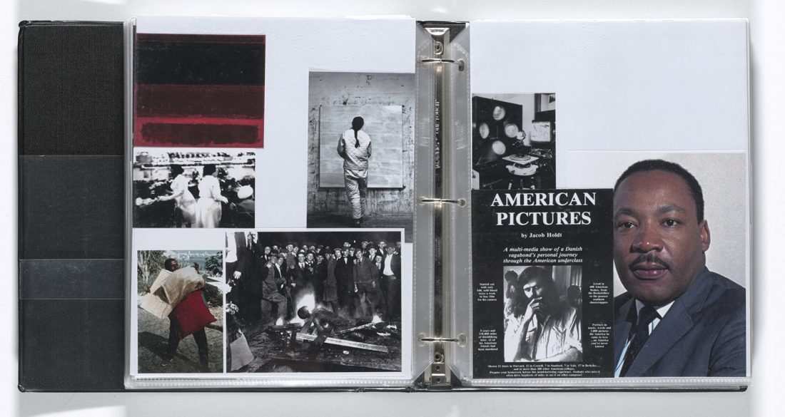 <p>Arthur Jafa, 'Untitled Notebook', 1990–2007. Copyright Arthur Jafa<br /> Courtesy the artist and Gladstone Gallery, New York and Brussels</p>