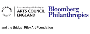 Arts Council England, Bloomberg Philanthropies and Bridget Riley Art Foundation