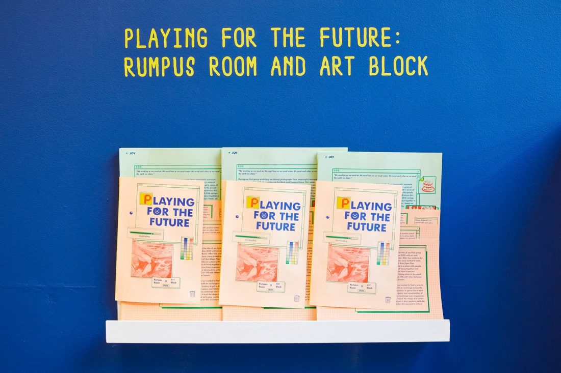 <p>Rumpus Room,<em> Playing for the Future </em>publication, 2021. Photo: Andy Stagg</p>