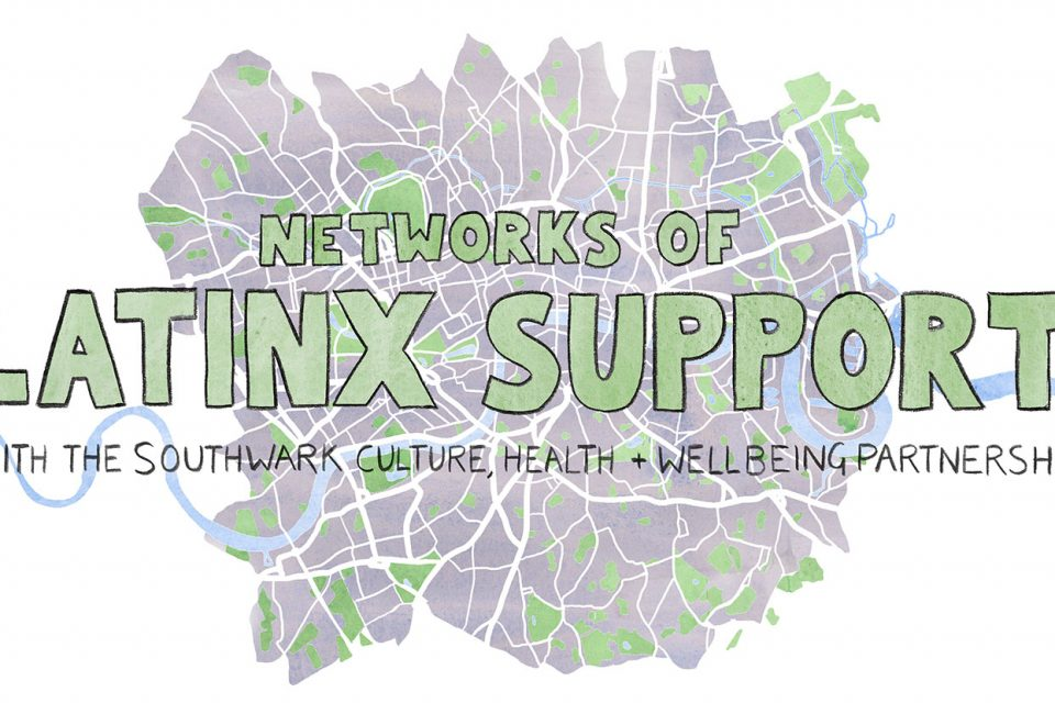 Walk It Talk It: Networks of Latinx Support
