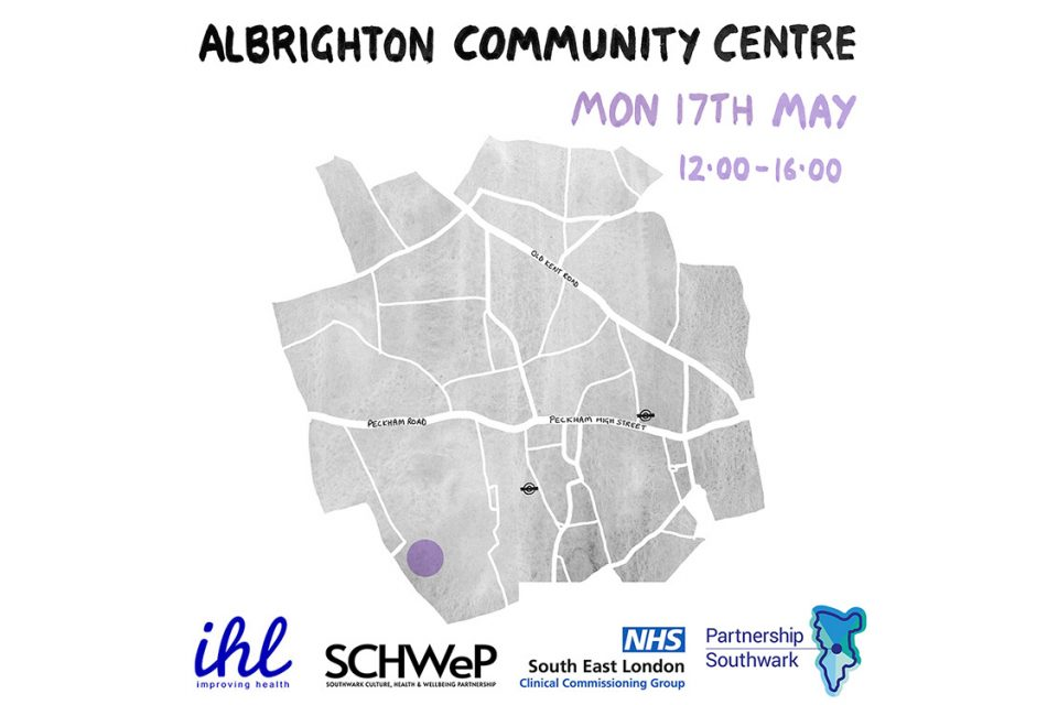The SLG join the Southwark Culture, Health and Wellbeing Partnership (SCHWeP)